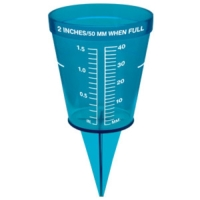 Rainfall Gauge. Accurate Rainwater Gauge to Measure Rainfall for Lawn and Garden Watering