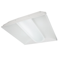 TCP TR22D4041K  2x2  40W LED Volumetric Troffer 4100k