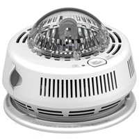 BRK 7010BSL Photo/Strobe Smoke Alarm ADA, AAA Backup