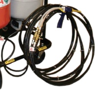 100 Ft Hose for CPDS with Shutoff, Filter and Applicator