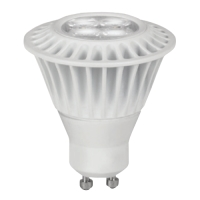 TCP LED7GU10MR1627KNFL Dimmable 7W Narrow GU10 LED 2700K