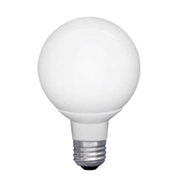 EarthTronics G25 5W   LED Globe 2700K LG252527ND