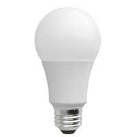 TCP LED7A19D30K Dimmable 7W Smooth A19 LED - 3000K