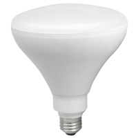 TCP LED17BR40D24K	Dimmable 17W Smooth BR40 - 2400K