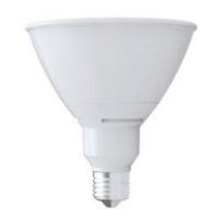 Earthtronics  L3P381940DW/25 19W Dimmable PAR38 LED 4000K