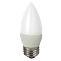 TCP LED5E26B1127KF 5W Dimmable Blunt LED Candle 27K, Frosted