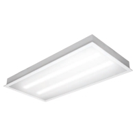 TCP 45W Dimming Flat Opaque 2x4 LED E-Series Troffer 120V