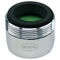 Neoperl Careguard 1.5gpm Dual Thread, Laminar stream, Chrome Plated 120200