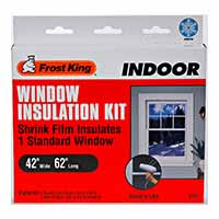 Frost King V73H Shrink & Seal 42x62 Window Kit