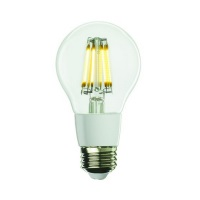 Bulbrite 7W Dimmable A-Shape LED Filament LED7A19/27K/FIL/D