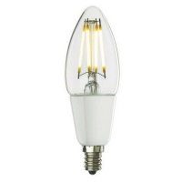 Bulbrite 4W Dimmable Chandelier LED Filament LED4B11/27K/FIL/D