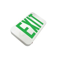 Howard Lighting Battery Backup LED Exit Sign Green HL0301B2GW