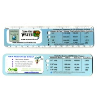 Custom NRG Water Ruler Drip Gauge WR-060-C