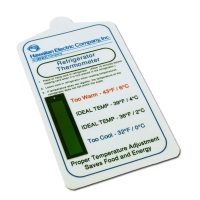 Custom NRG Refrigerator Temperature Gauge Card CT-108C