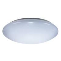 Energetic ELFM-13RAC Dimmable 13 inch Flush Mount with Acrylic Diffuser Round 18W 4000K