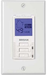 Broan Wall Control Unit VT7W Accessory for Heat Recovery