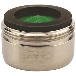 Neoperl Perlator Regular Male 1.5 GPM Aerator Brushed Nickel