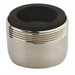 Neoperl Perlator Regular Dual Thread 1.5 GPM Aerator Brushed Nickel