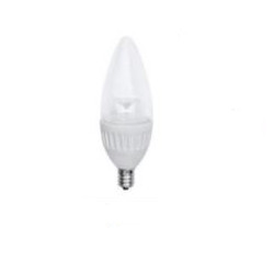 Earthtronics B10 4.7W 315 Lumens 2700K BLUNT CLEAR Dimmable LED