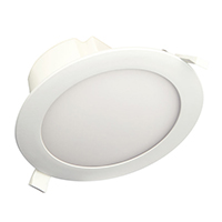 "TCP 14W 5/6"" Beveled Dimmable LED Recessed Downlight 4100K L120DR56D3541K"