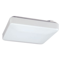 Energetic 22W Square LED Flushmount Fixture, CCT Selectable E3LFMAS22D-803050