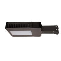 Maxlite LED Slim area light 100W, 120-277V, TYPE III, 5000K, Bronze, Straight Arm, AR100UT3-50BA