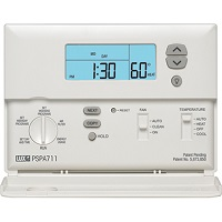 Lux Pro 5 2 Day Programmable Thermostat Psp511lc 1 Heat 1 Cooling