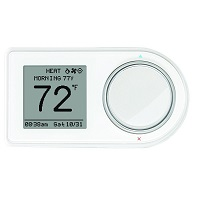 Lux Geo 7-Day Wi-Fi Programmable Thermostat GEO-WH