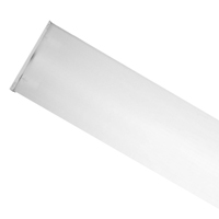 TCP 4ft 2-Lamp LED T8 Ready Surface Wrap Fixture WRP4WA2LT8B2LS1, Double-Ended, Motion Sensor