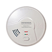 USI 3-in-1 MIC3510SB Tamper Proof Battery Smoke / Fire  / Carbon Monoxide Alarm