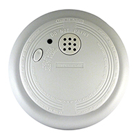 USI 9V Battery Powered SS-770-24CC Ionization Smoke and Fire Alarm