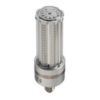 LED-8033E40-A 38W Bollard/ Post Top LED light 4200K  Edison Base