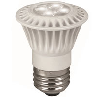 TCP LED 7W PAR16 Dimmable   Flood 3000K LED7E26PAR1630KFL
