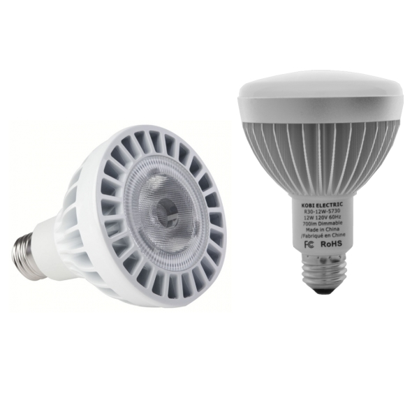 Par30 and R30 LED Light Bulbs
