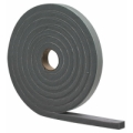 "MD 1/4"" X 1/8"" X 17' Gray High Density Closed Cell Foam Tape w/Adhesive 02238"