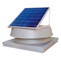 Natural Light 30W Curb Mounted Solar Attic Fan SAF30CM