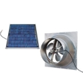 Natural Light 20W Gable Mount Solar Attic Fan SAFG20