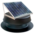 Natural Light 10W Roof Mounted Solar Attic Fan SAFB - Black