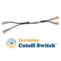Natural Light Solar Attic Fan Fire Safety Cut-Off Switch