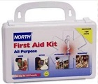 Honeywell North First Aid Kit - 10 person. General Purpose. 17345