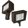 Energetic 75W LED Flood Light Architectural w/Photocell 5000K E1AFL75DL-750