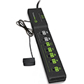 TrickleStar 7 Outlet Tier 2 Advanced Smart Power Strip , Multi-Sensing TS18100