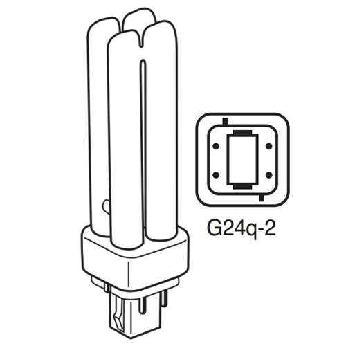 Philips 18w 4 Pin Quad Lamp Pl C 18w8274palto